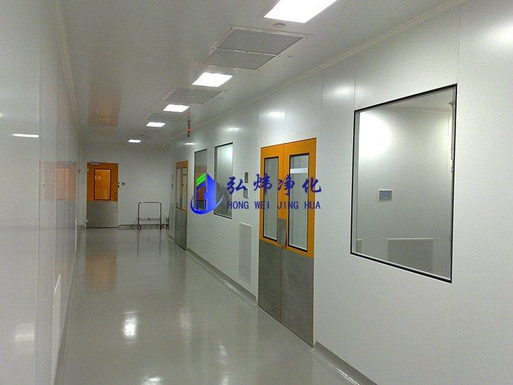 电子厂净化车间(三十万级净化工程)