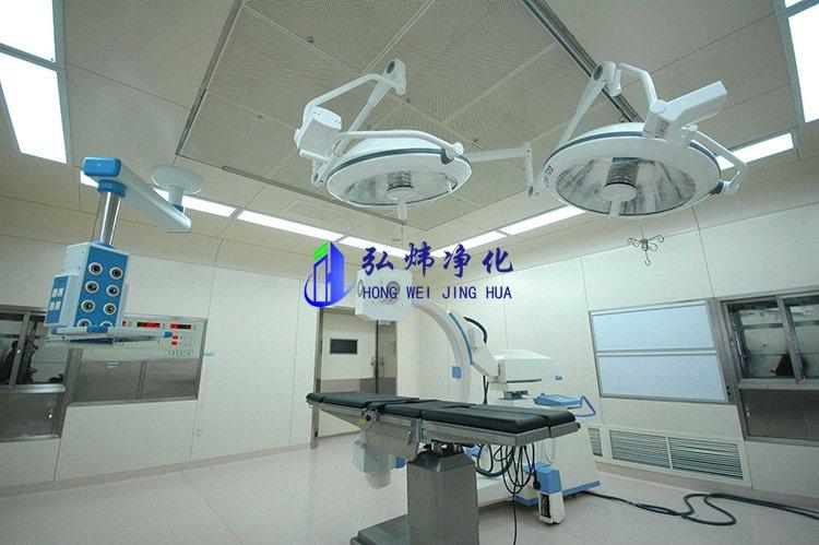 洁净手术室净化(万级净化工程)