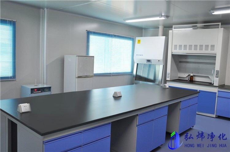 长沙万级生物实验室洁净车间工程装修