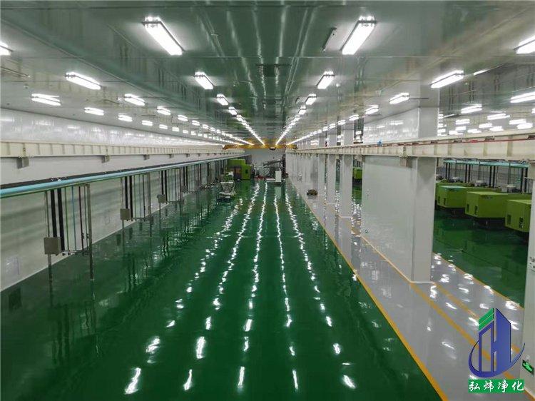 湖北洁净工程-十万级食品洁净车间装修