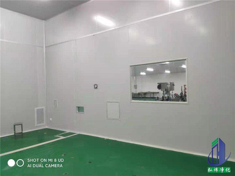 惠州龙门医学无尘车间装修改造工程